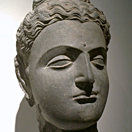 Siddhartha Gautama Bouddha, statue antique