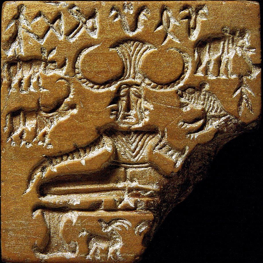 Tablette dite de Shiva Pashupati, 2600–1900 AC